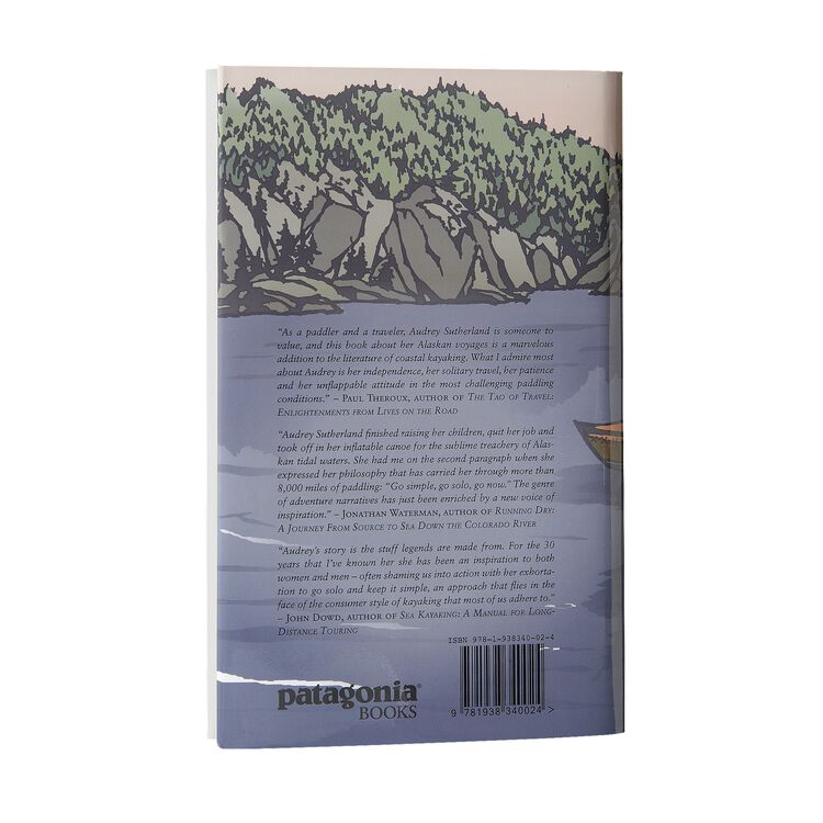 『Paddling North』オードリー・サザーランド著/英語版(ハードカバー),
