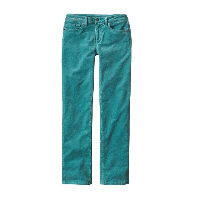 W'S CORDUROY PANTS - SHORT, Mogul Blue (MGLB)