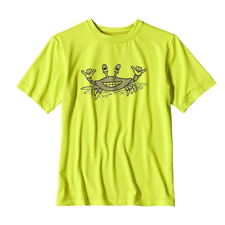 ボーイズ・キャプリーン・シルクウェイト・グラフィック・ティー, Chartreuse (CHRT)