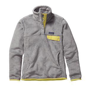 ウィメンズ・リツール・スナップT・プルオーバー, Tailored Grey - Nickel X-Dye w/Yoke Yellow (TNXY)
