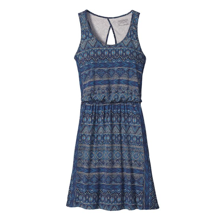 W'S WEST ASHLEY DRESS, Papyrus Pop: Navy Blue (PYNB)