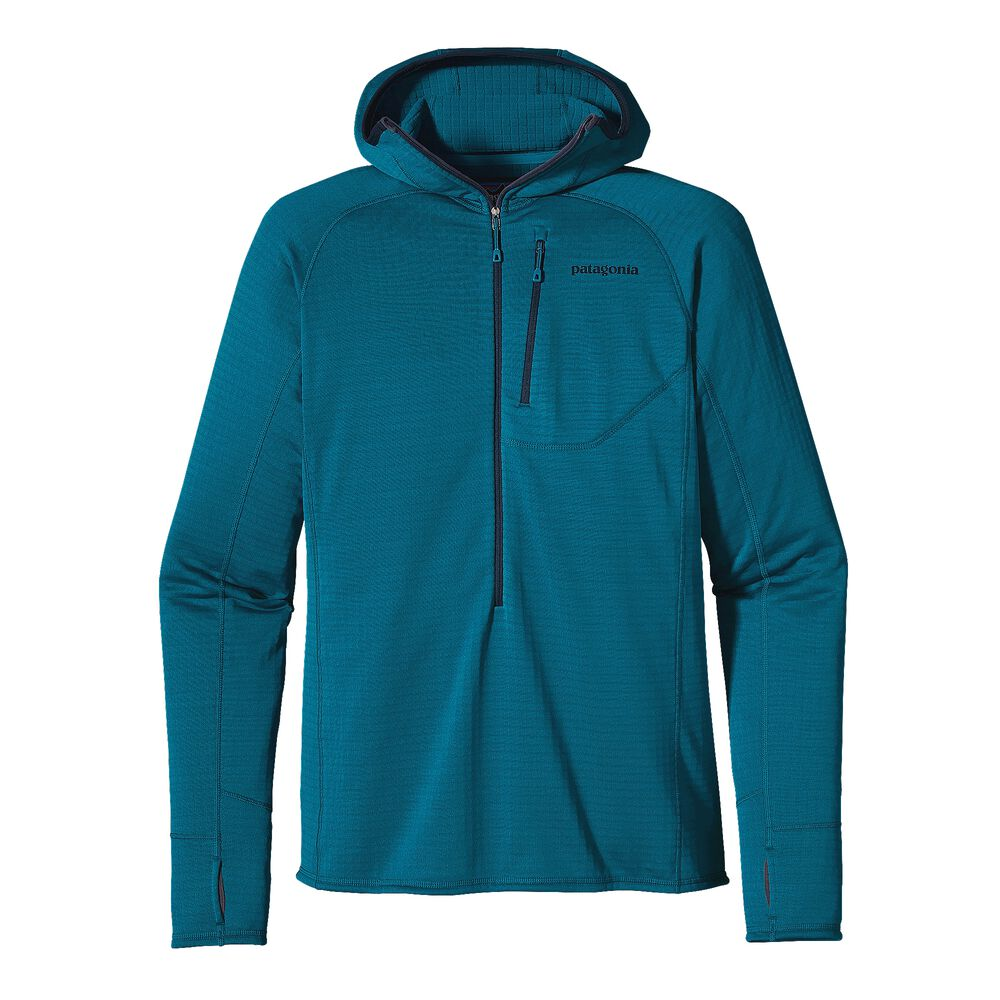 photo: Patagonia Men's R1 Hoody fleece top