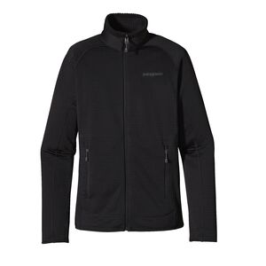 W'S R1 FULL-ZIP JKT, Black (BLK)