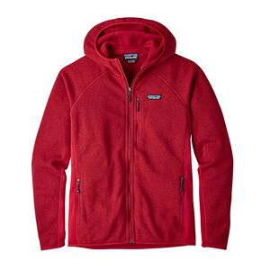 M's Performance Better Sweater™ Fleece Hoody, Classic Red (CSRD)