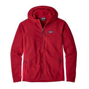 メンズ・パフォーマンス・ベター・セーター・フーディ, Classic Red (CSRD)