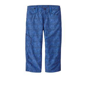 W's Venga Rock Capris, Batik Hex Micro: Navy Blue (BKNA)