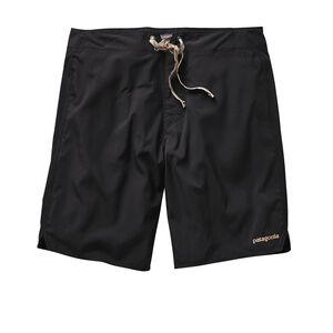 メンズ・ライト・アンド・バリアブル・ボード・ショーツ(46cm), Black w/Ash Tan (BLKA)