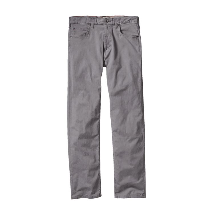 M'S STRAIGHT FIT ALL-WEAR JEANS - SHORT, Feather Grey (FEA)