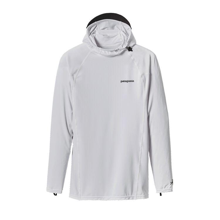 メンズ・RØフーディ, White w/Feather Grey (WFEA)