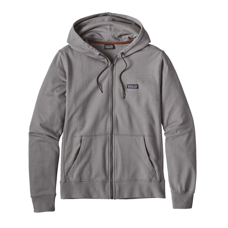M'S LIGHTWEIGHT FULL-ZIP HOODY, Feather Grey w/Forge Grey (FTFG)