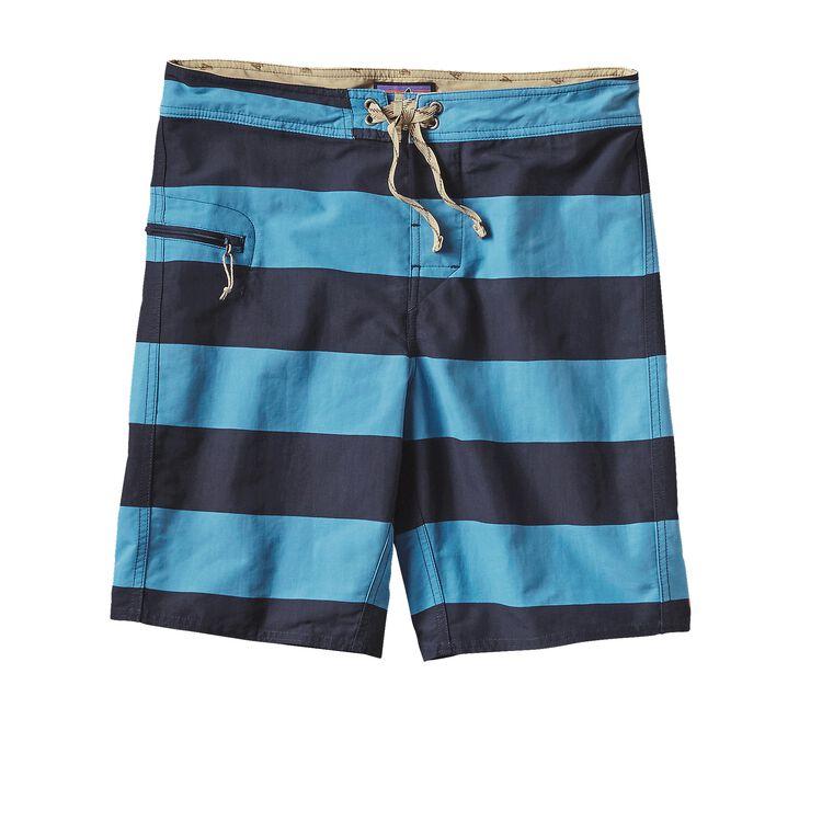 M'S PRINTED WAVEFARER BOARD SHORTS - 19, Alisal Stripe: Catalyst Blue (ACYB)