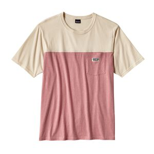 M's Clean Color Block Tee, Clean Carmine Pink (CRMP)