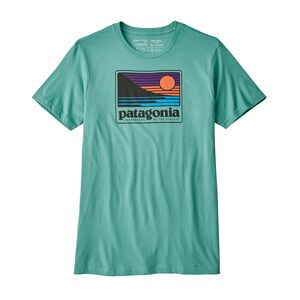 M's Up & Out Organic Cotton T-Shirt, Beryl Green (BRYG)