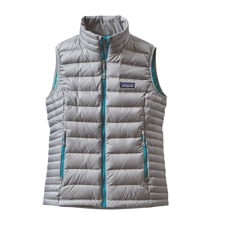 W'S DOWN SWEATER VEST, Drifter Grey (DFTG)