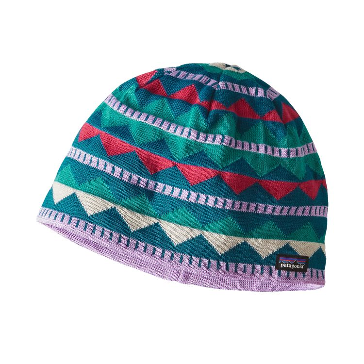 K'S BEANIE HAT, Diamond Stripe: Dragon Purple (DSDP)