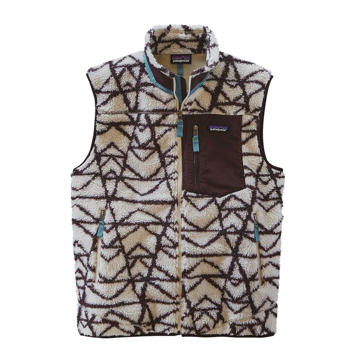 M'S CLASSIC RETRO-X VEST, Pine Stamp Big: Natural (PSBN)