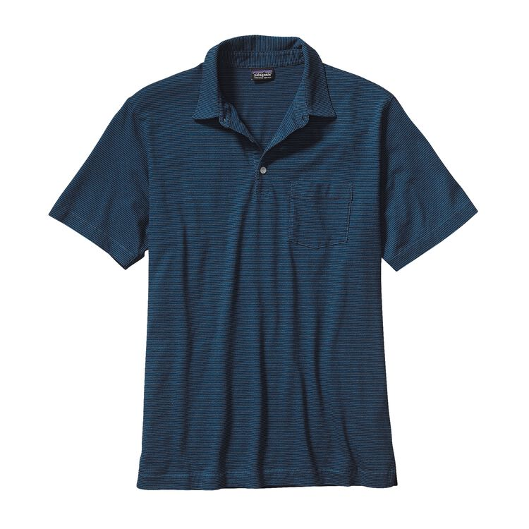 M'S SQUEAKY CLEAN POLO, Fathom: Underwater Blue (FUWB)