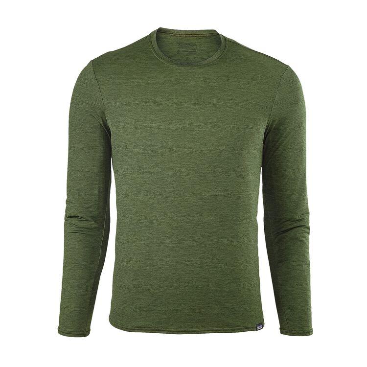 M'S CAP DAILY L/S T-SHIRT, Glades Green - Carbon X-Dye (GDCX)