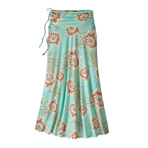 W's Kamala Maxi Skirt, Cereus Flower: Bend Blue (CEUB)