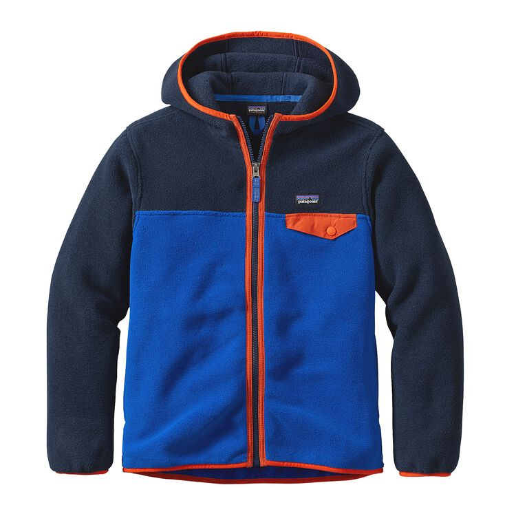 BOYS' LW SYNCH SNAP-T HOODY, Viking Blue (VIK)