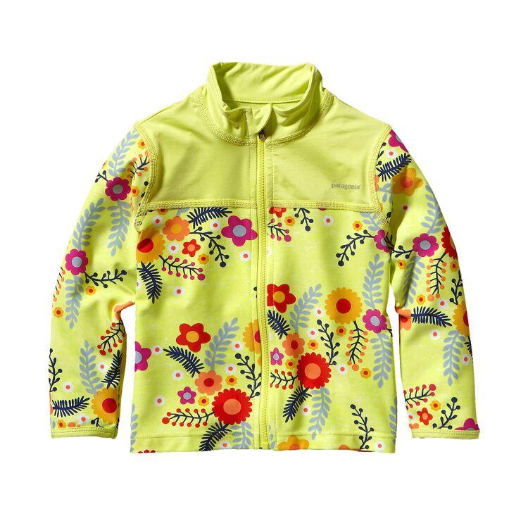 ベビー・リトル・ソル・ラッシュ・ジャケット, Folk Floral: Mayan Yellow (FMAY)