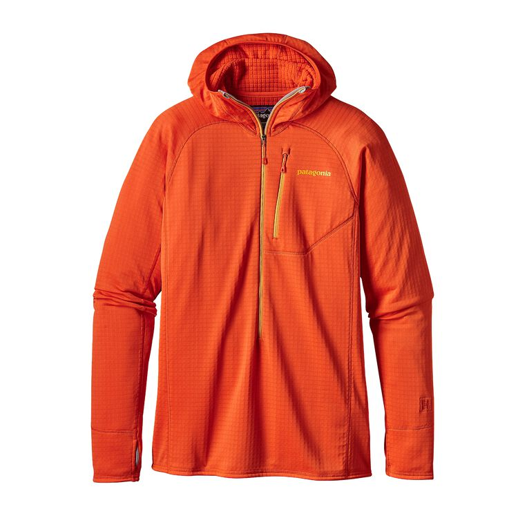 メンズ・R1フーディ, Campfire Orange (CMPO)
