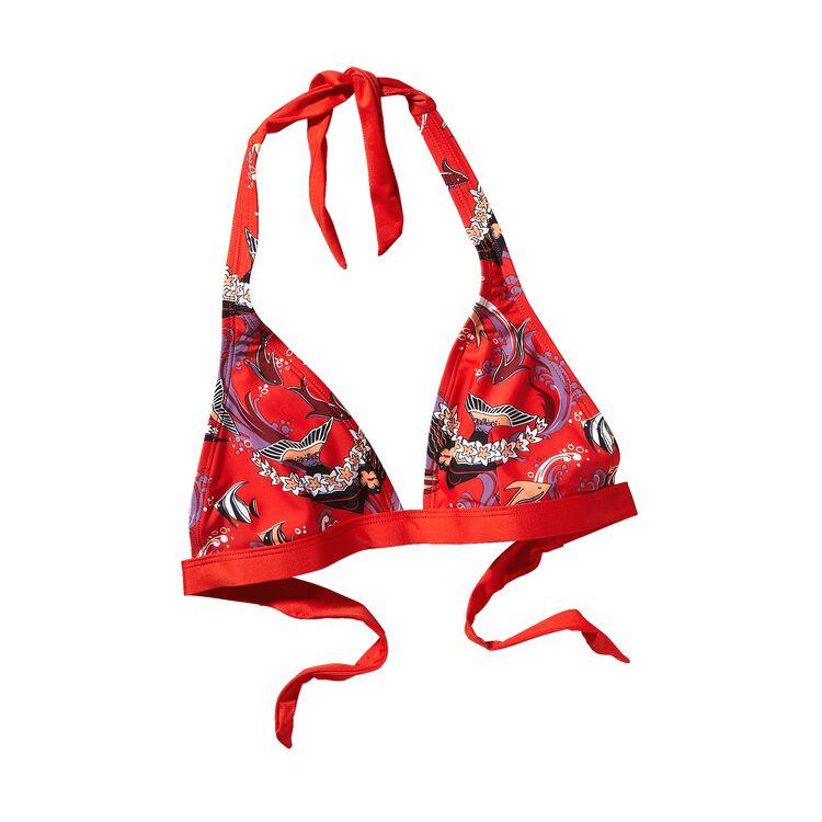 ウィメンズ・ブコー・ホルター・トップ, Paradise Fish Swim: Turkish Red (PSTR)