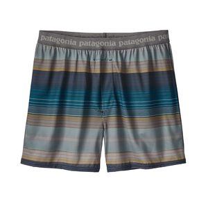メンズ・キャプリーン・デイリー・ボクサー, Blanket Stripe: Filter Blue (BFLT)