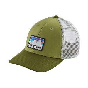 SHOP STICKER PATCH LOPRO TRUCKER HAT, Crag Green (CRGN)