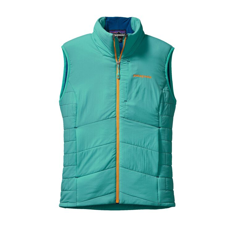 W'S NANO-AIR VEST, Howling Turquoise (HWLT)