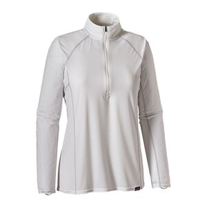 W's Capilene® Lightweight Zip-Neck, White (WHI)