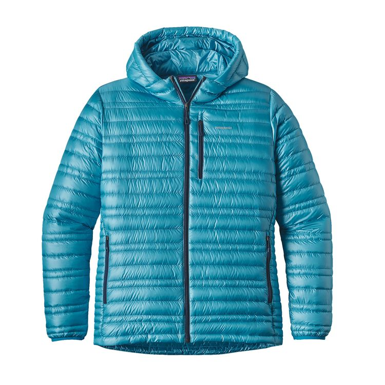 M'S ULTRALIGHT DOWN HOODY, Grecian Blue (GCB)