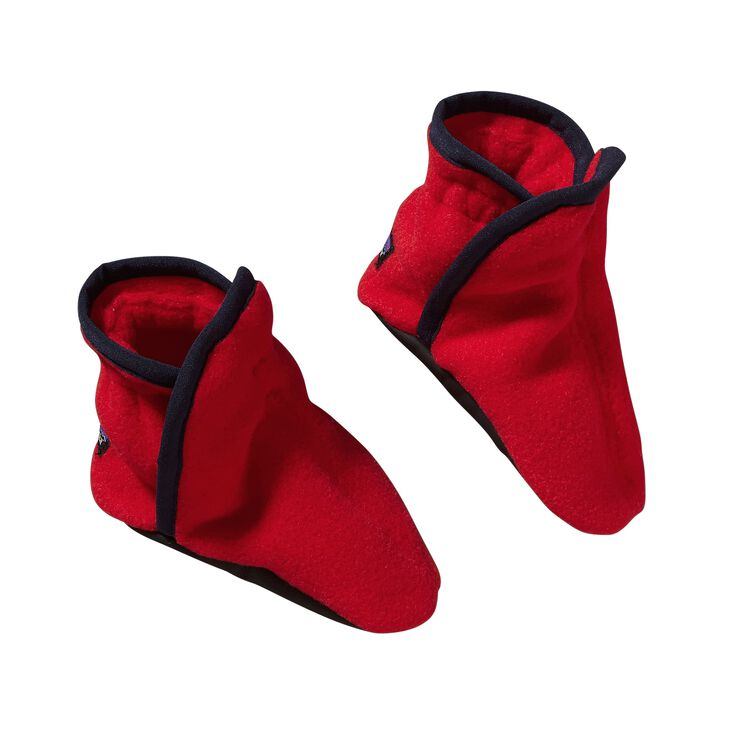 BABY SYNCH BOOTIES, French Red (FRR)