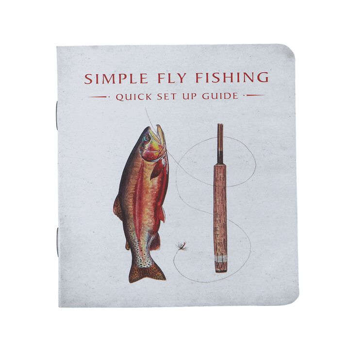 "Simple Fly Fishing Kit for 8' 6"" Rod,"