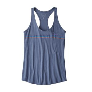 W's Tide Ride Organic Cotton Tank Top, Dolomite Blue (DLMB)