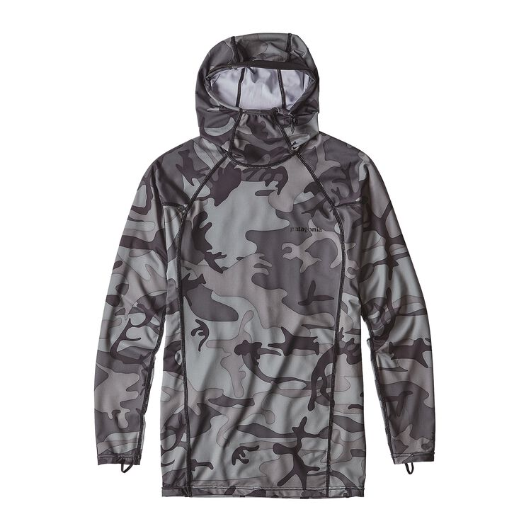 メンズ・RØ フーディ, Forest Camo: Forge Grey w/Black (FCFB)