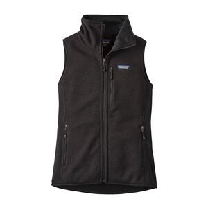 W'S PERFORMANCE BETTER SWEATER VEST, Black (BLK)