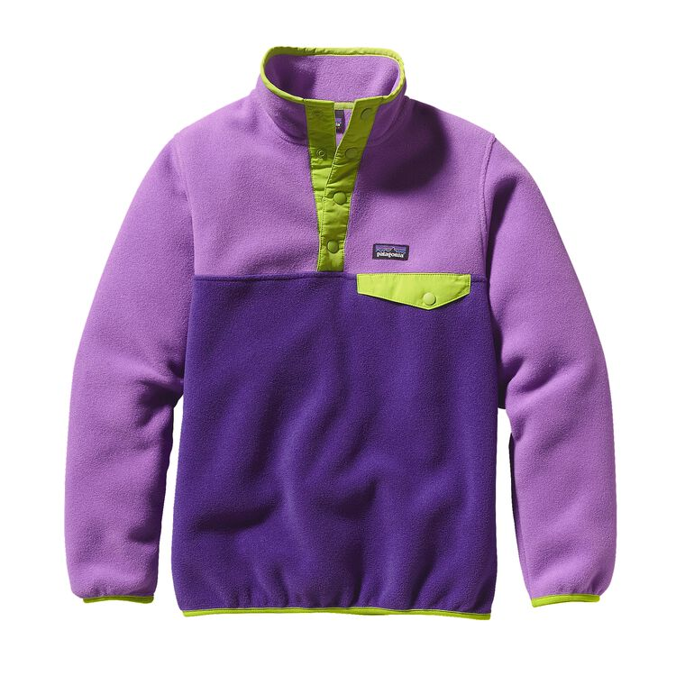 GIRLS' LW SYNCH SNAP-T P/O, Concord Purple (CNCP)