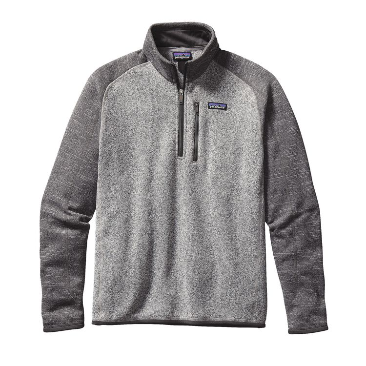 M'S BETTER SWEATER 1/4 ZIP, Nickel w/Forge Grey (NKFG)