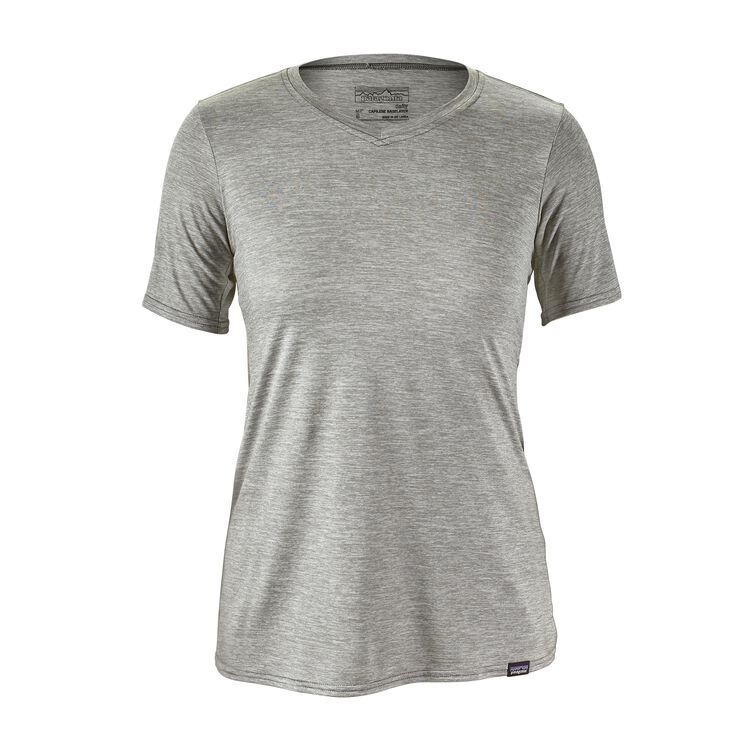 W'S CAP DAILY T-SHIRT, Feather Grey (FEA)