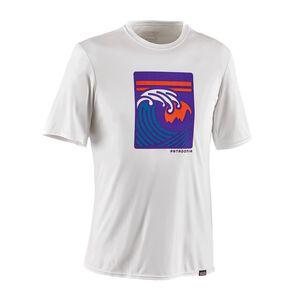 メンズ・キャプリーン・デイリー・グラフィック・Tシャツ, Viewfinder: White (VWWT)
