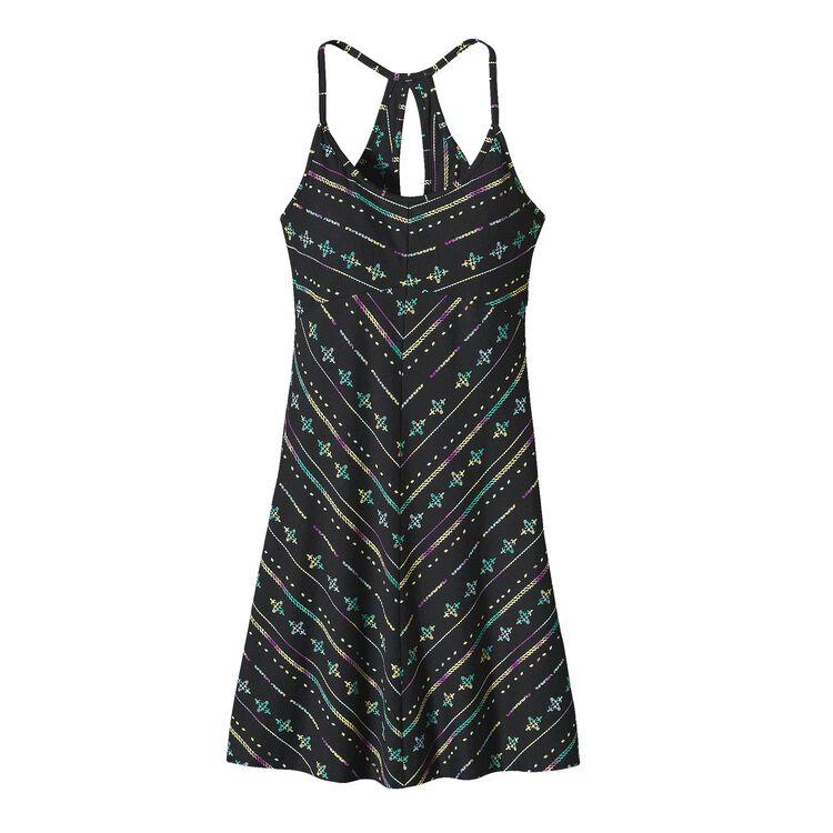 ウィメンズ・スプライト・ドレス, Blazing Stripe: Black (BZBK-234)