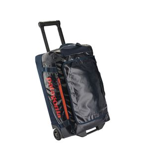 Black Hole® Wheeled Duffel 40L, Navy Blue w/Paintbrush Red (NPTR)