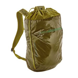 Lightweight Black Hole® Cinch Backpack 20L, Golden Jungle (GJG)