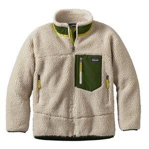 ボーイズ・レトロX・ジャケット, Natural w/Glades Green (NGLD)