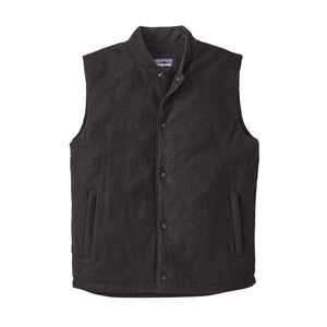 M's Recycled Wool Vest, Forge Grey (FGE)