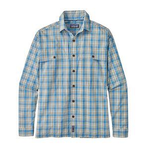 M's Long-Sleeved Island Hopper II Shirt, Riffle Hitch: Railroad Blue (RIFR)