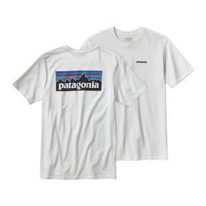 メンズ・P-6ロゴ・コットン・Tシャツ, White (WHI)