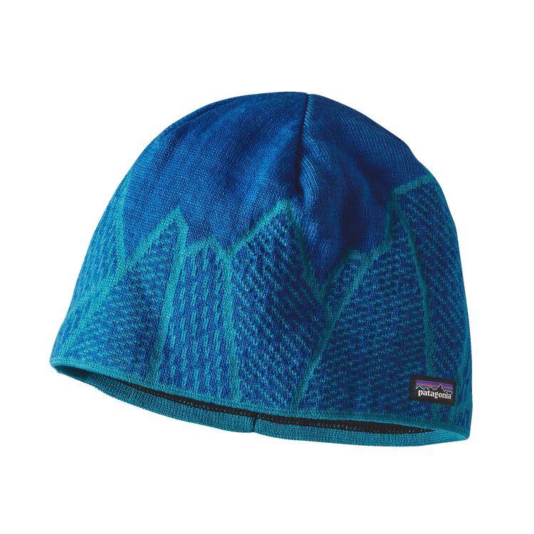 K'S BEANIE HAT, Crystal Edge: Deep Sea Blue (CYDE)