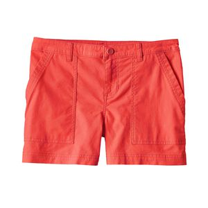 W'S STRETCH ALL-WEAR SHORTS - 4 IN., Carve Coral (CRVC)